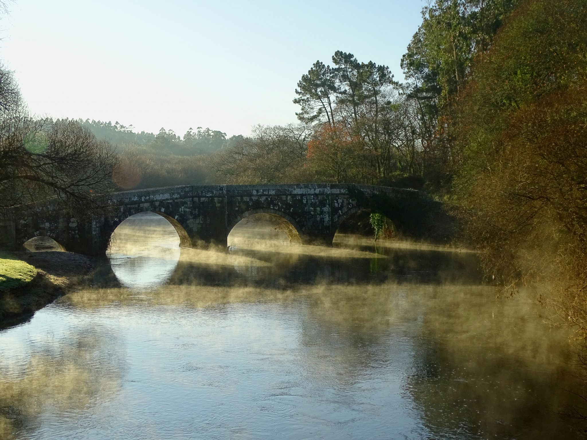 Puente romano de Brandomil, Spain