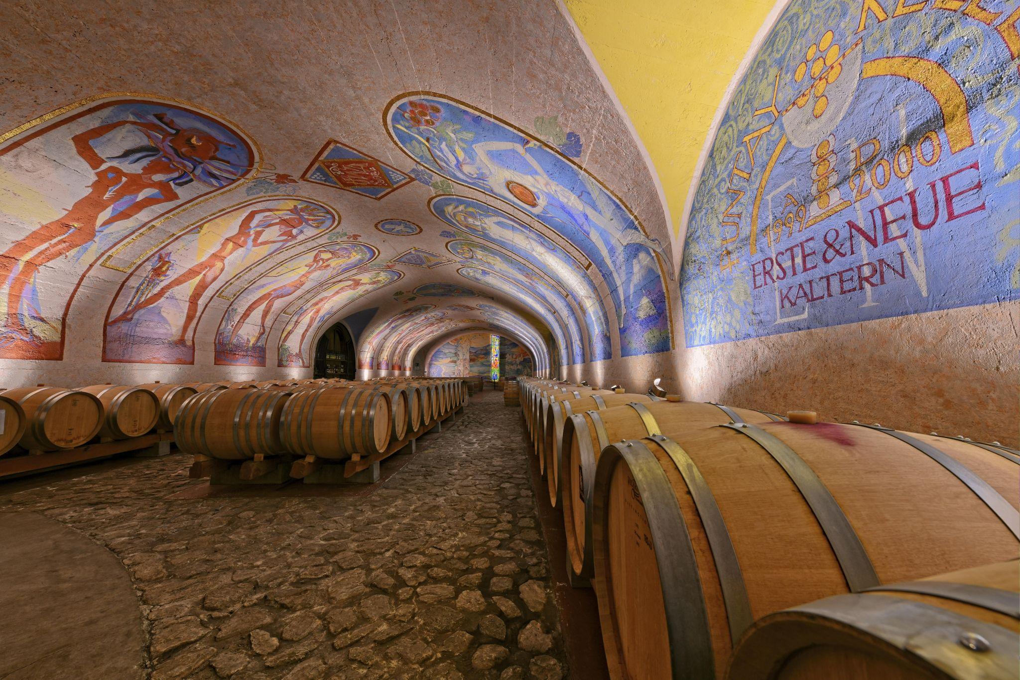 Puntay wine cellar, Italy