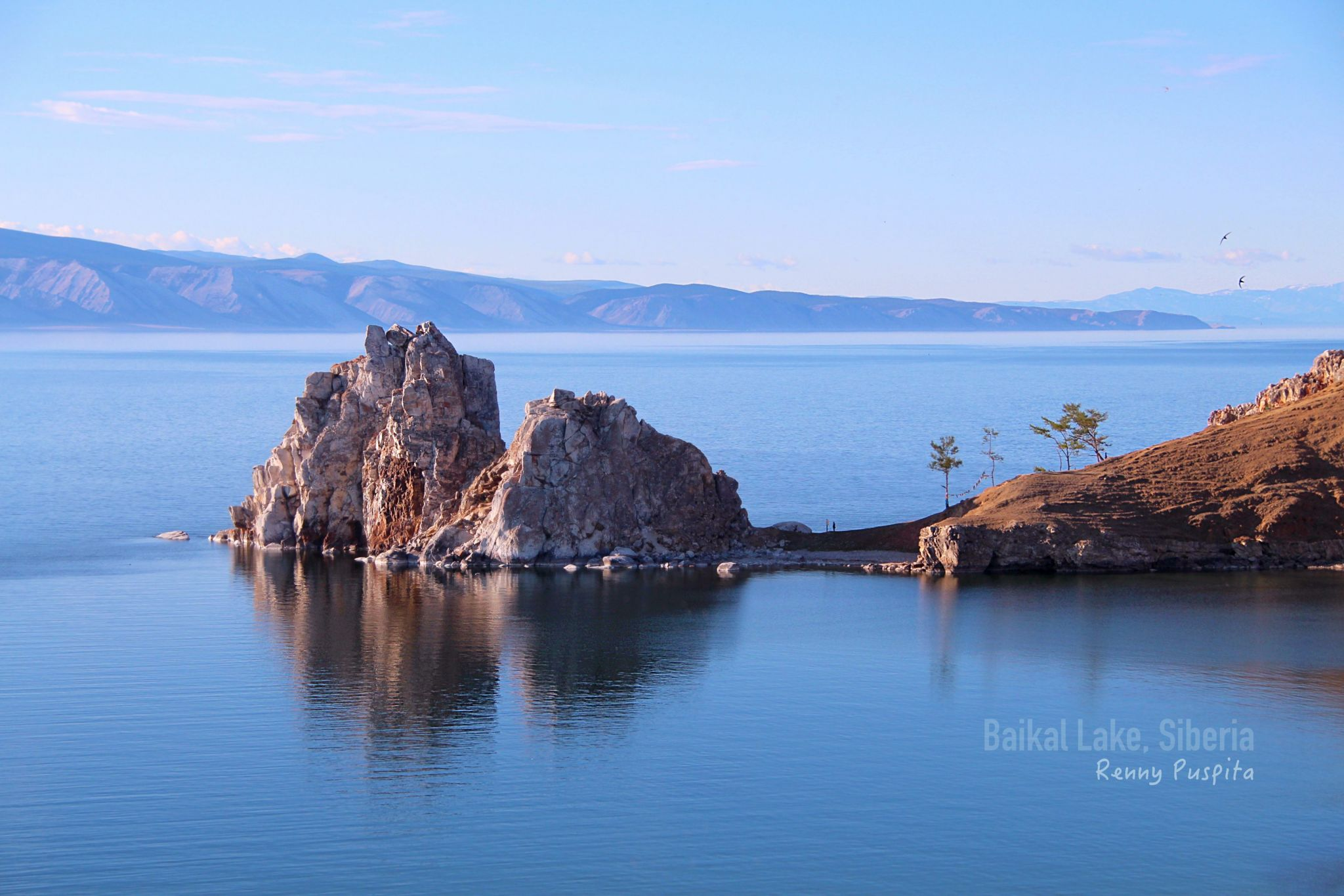 Shaman Rock at Baikal Lake, Siberia - Russia, Russian Federation