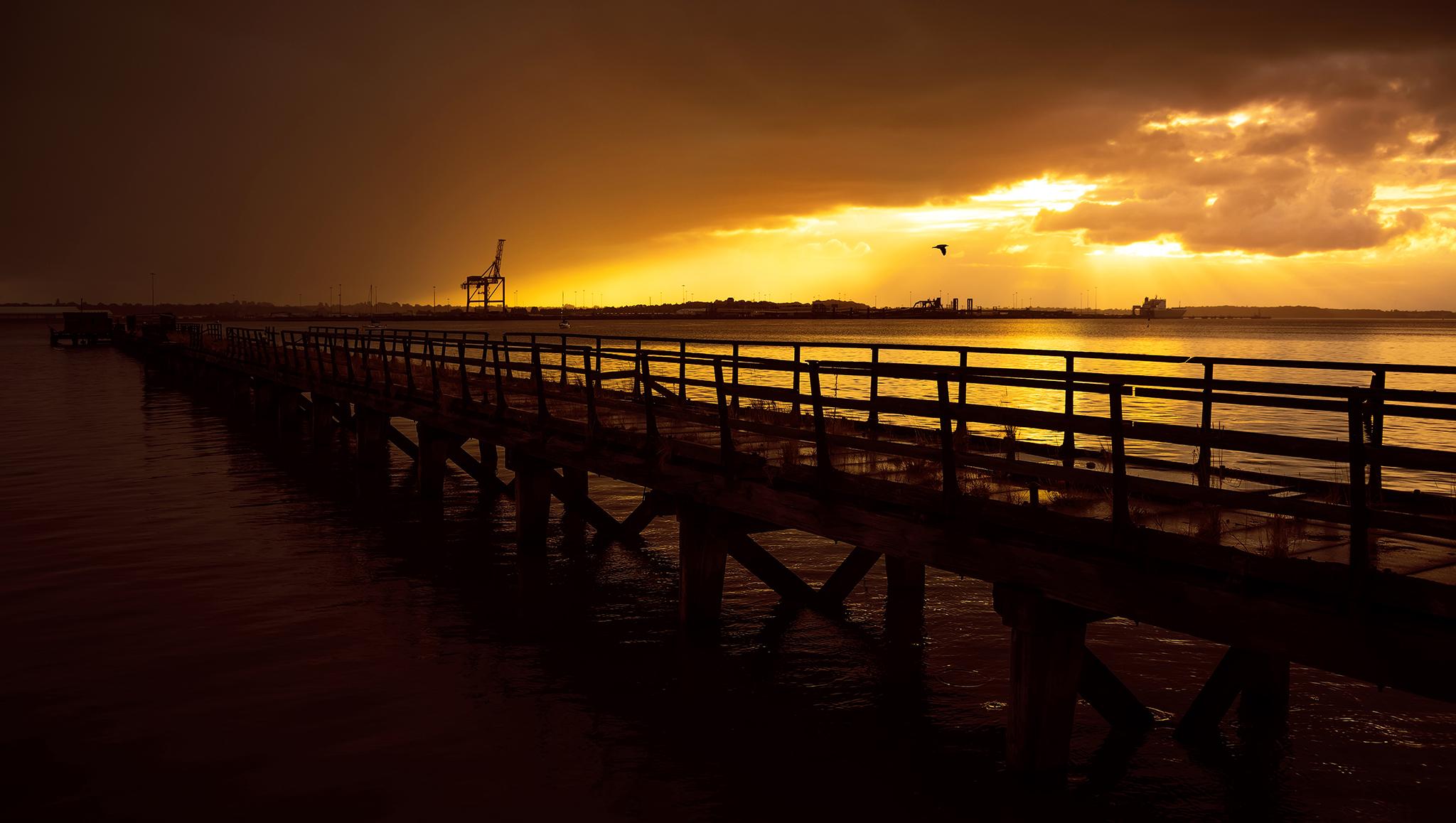 Shotley Pier, United Kingdom