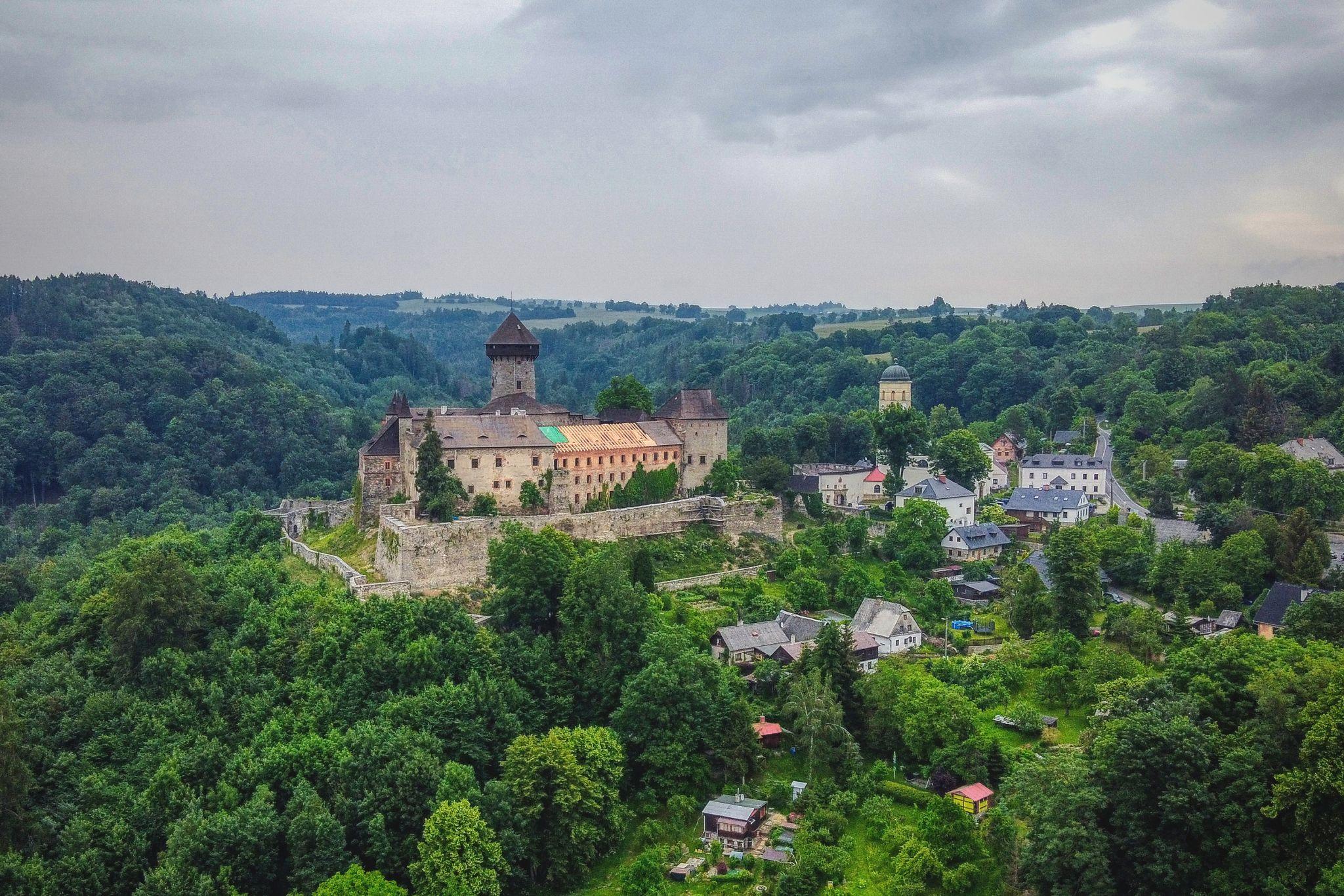Sovinec castle, Czech Republic