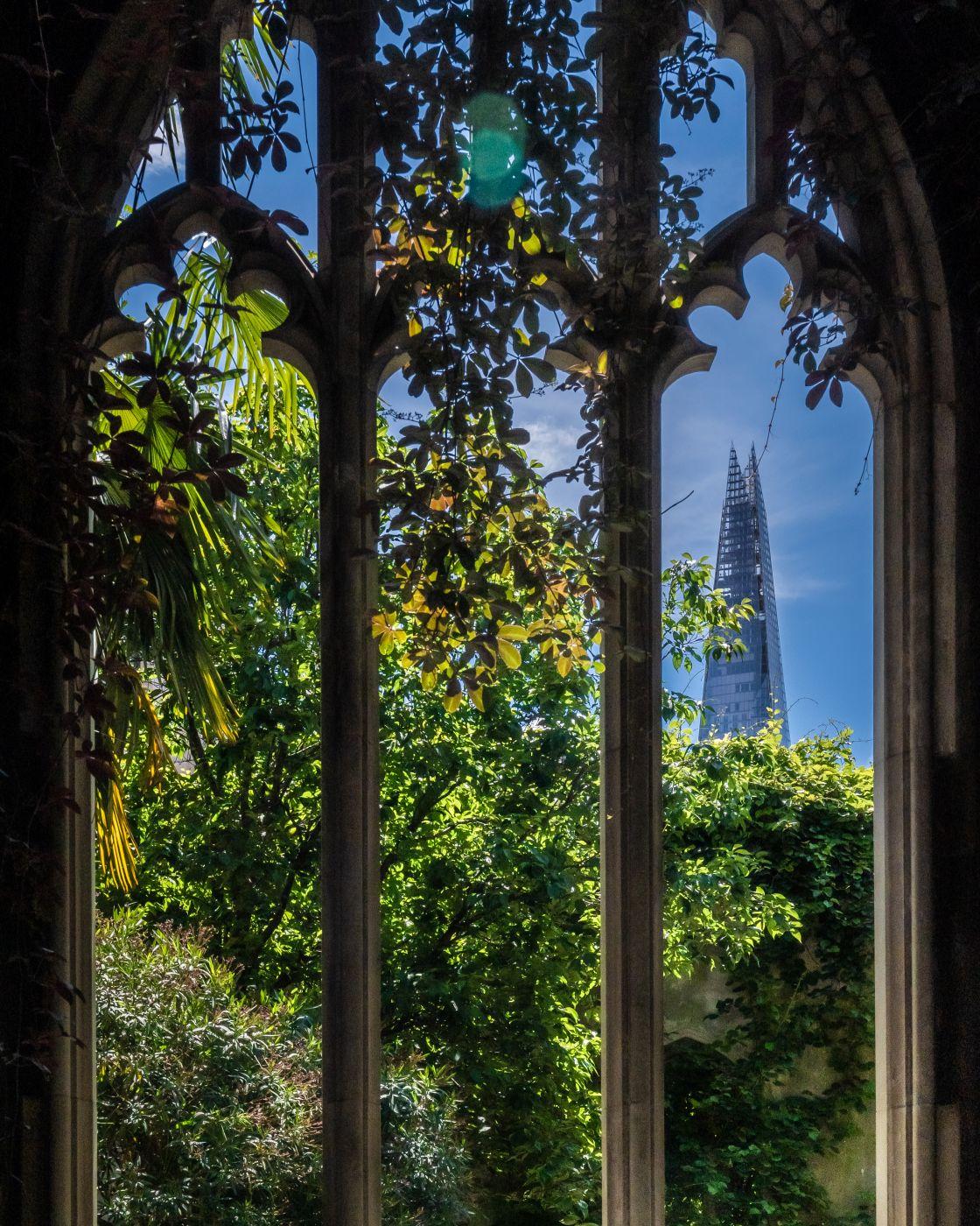 St Dunstan in the East church gardens, United Kingdom