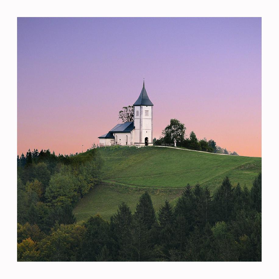 The church St. Primoz, Jamnik Slovenia, Slovenia