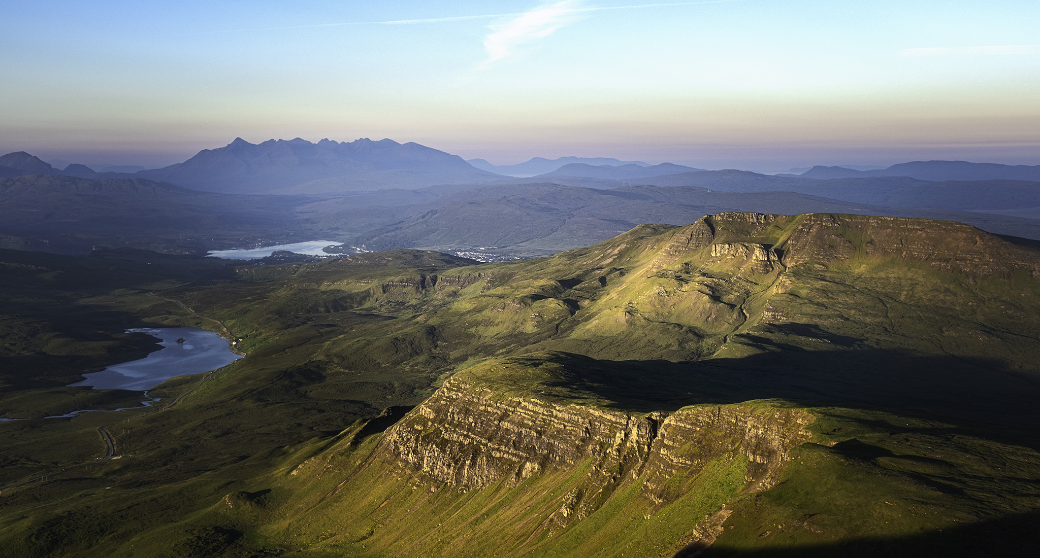 The Cullins seen from the Storr, United Kingdom