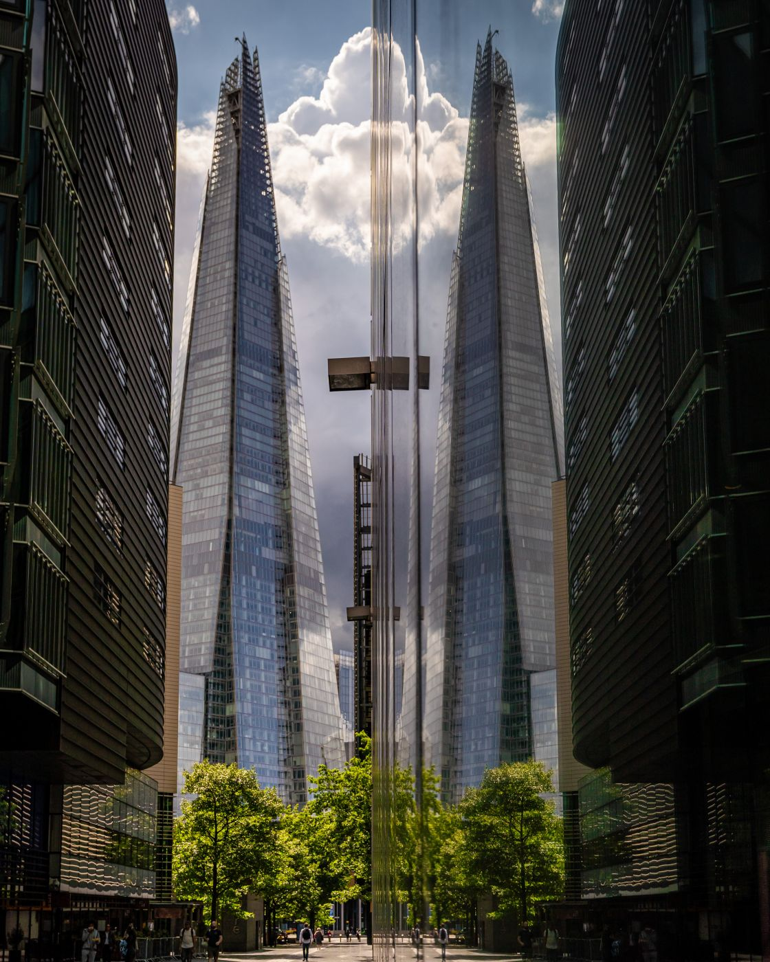 The Shard reflection, United Kingdom