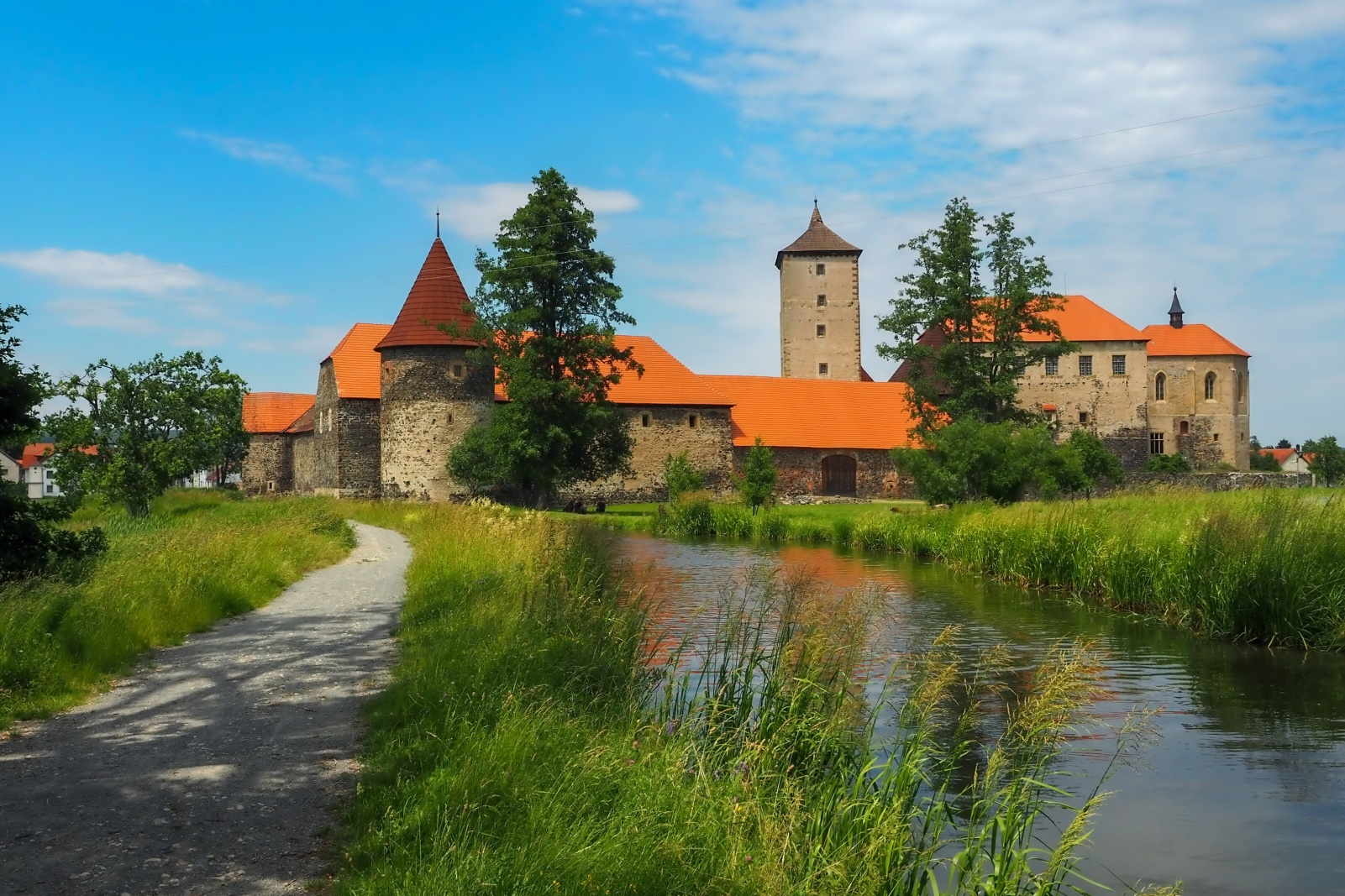 The Water Castle of Svihov, Czech Republic
