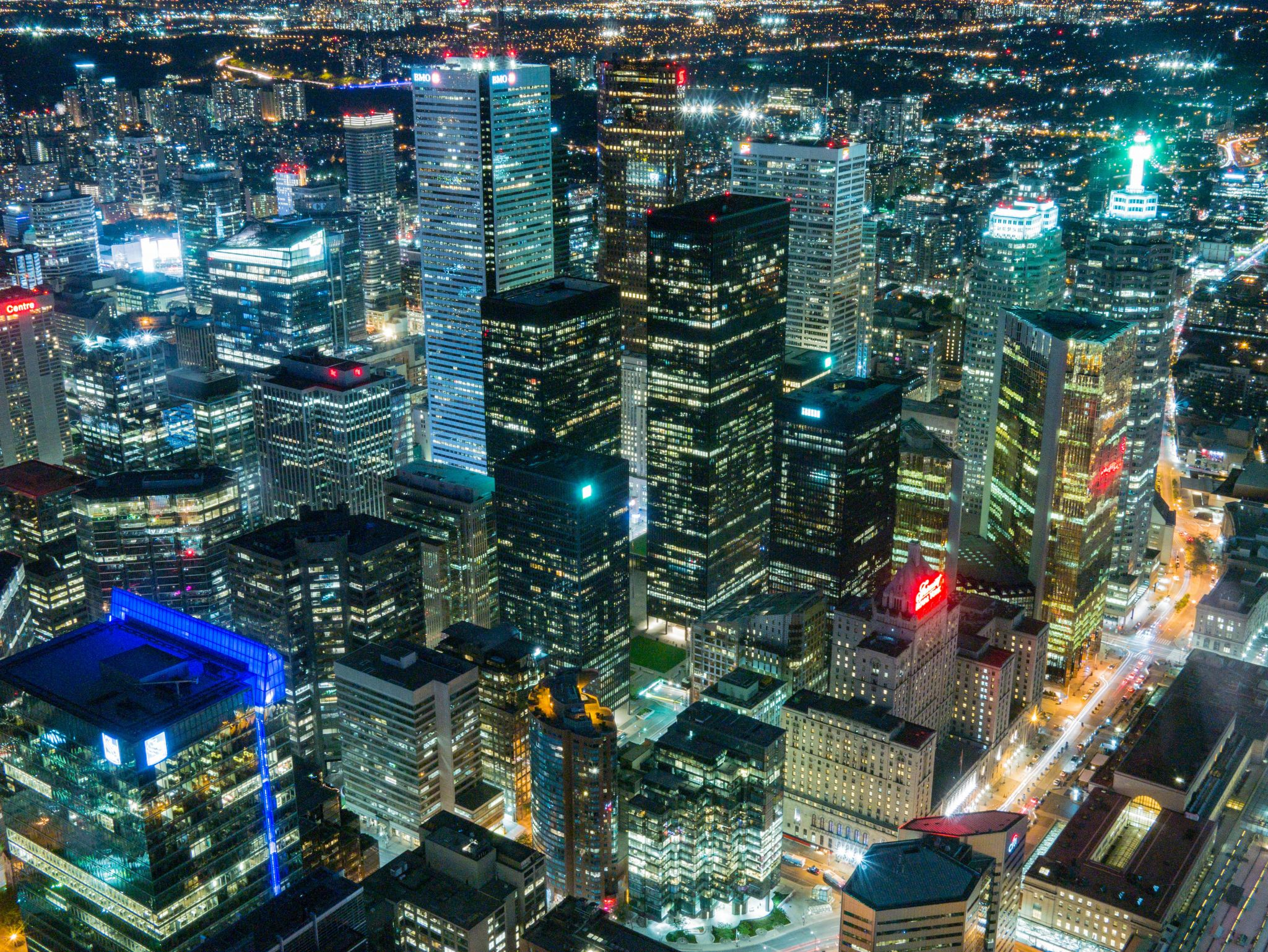 View from the CN Tower, Canada