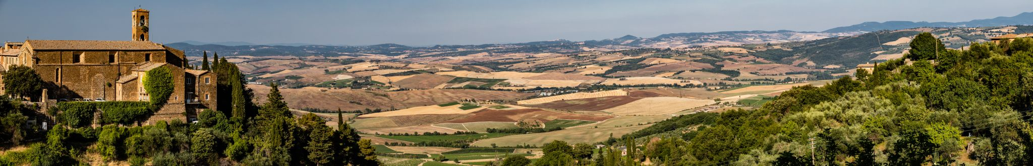 View of the Valley, Italy
