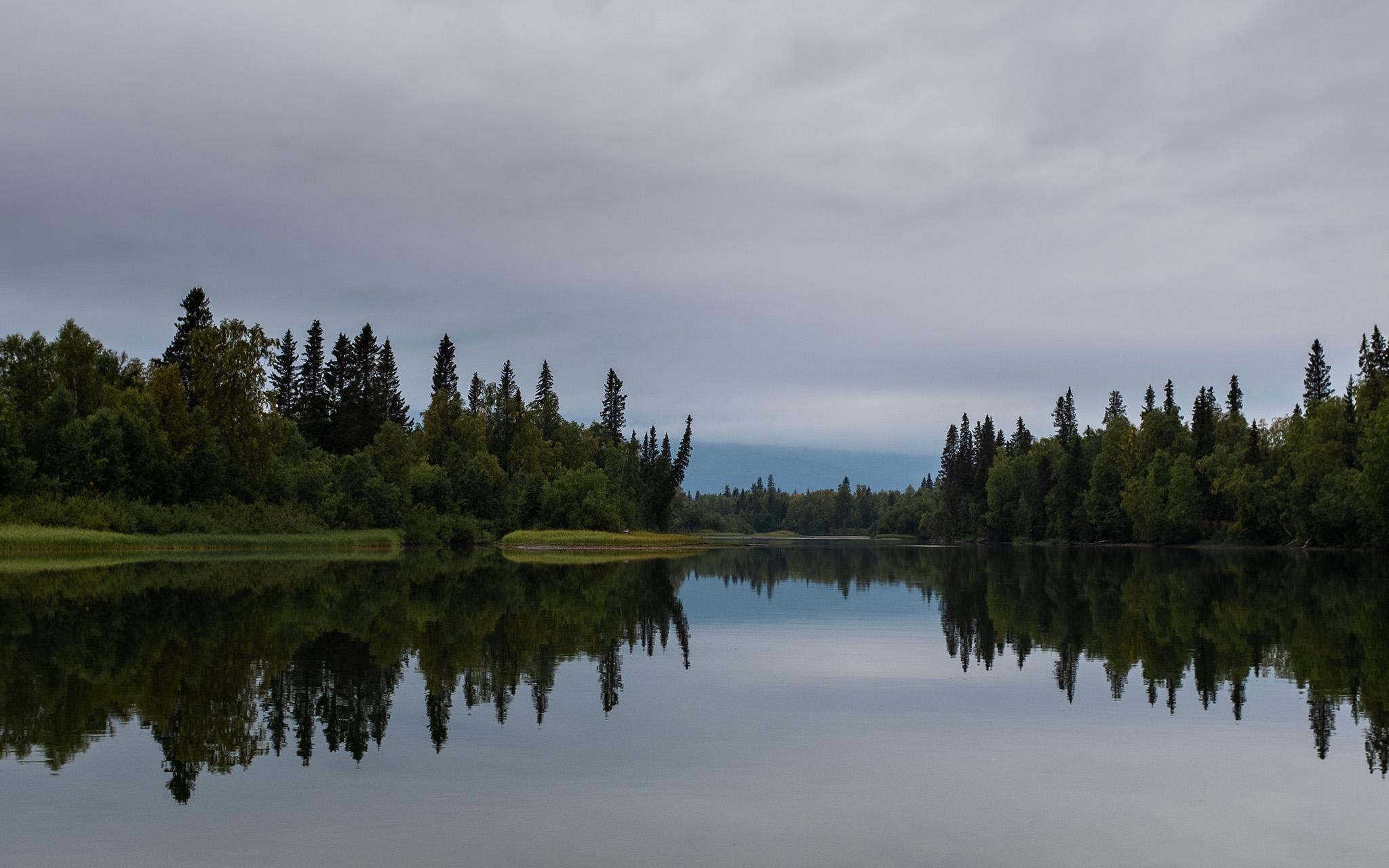 Views taken from the Padjalantaleden in Northern Sweden, Sweden