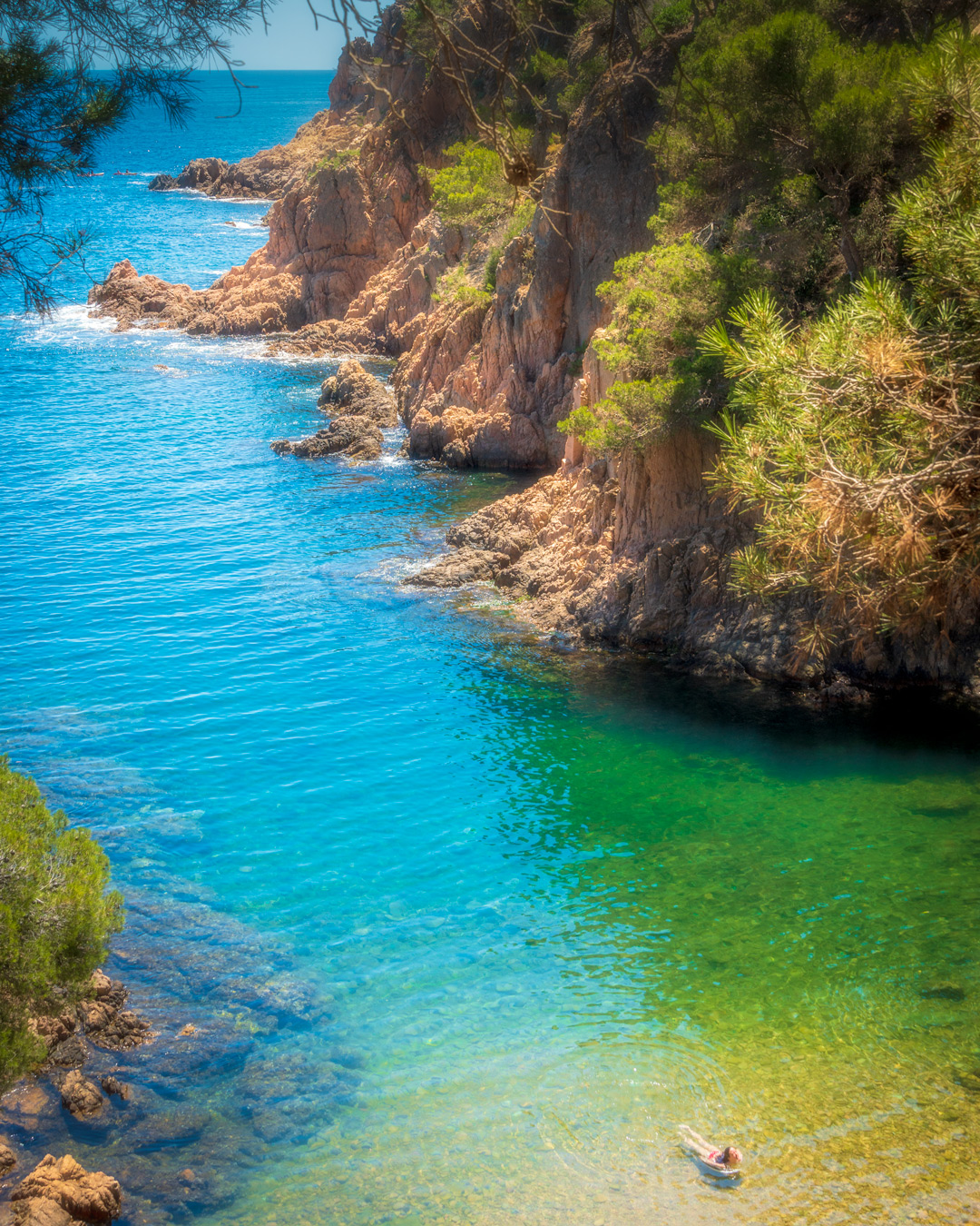 Aigua Xèlida Cove, Spain