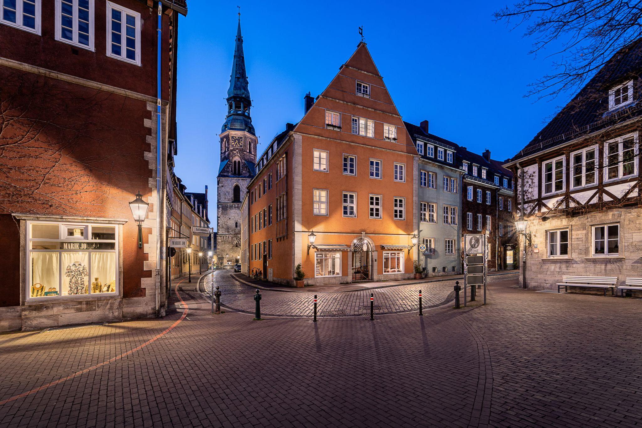 Ballhofplatz mit Kreuzkirche, Germany