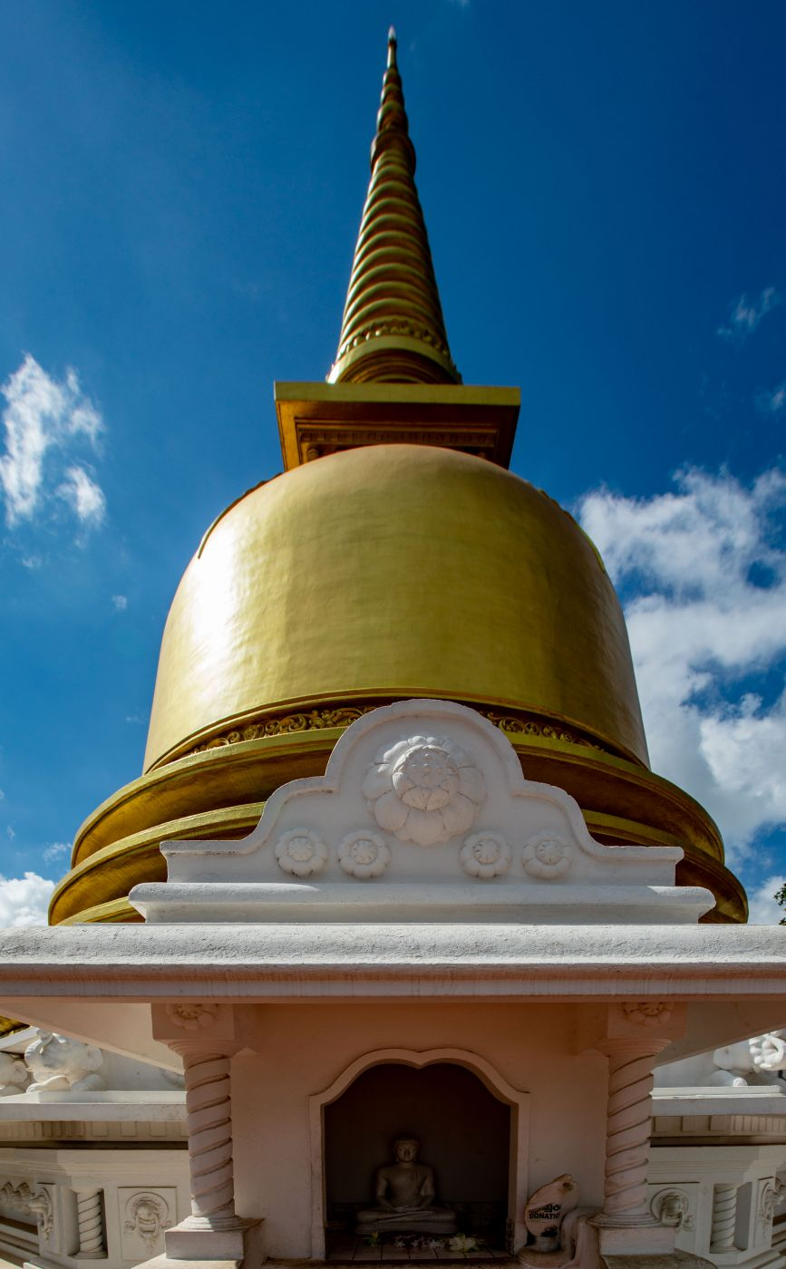 Bell at the Golden Temple Dambulla, Sri Lanka