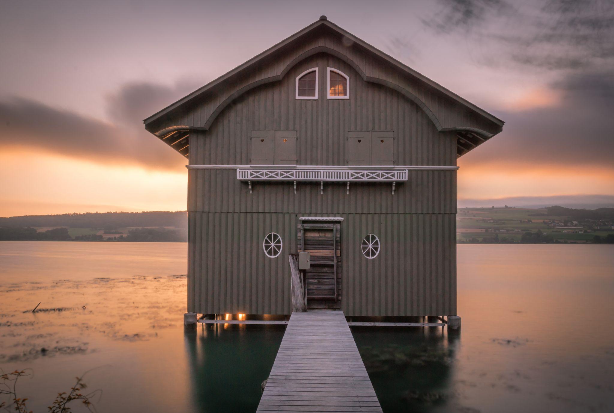 Boathouse Beinwil am See, Switzerland