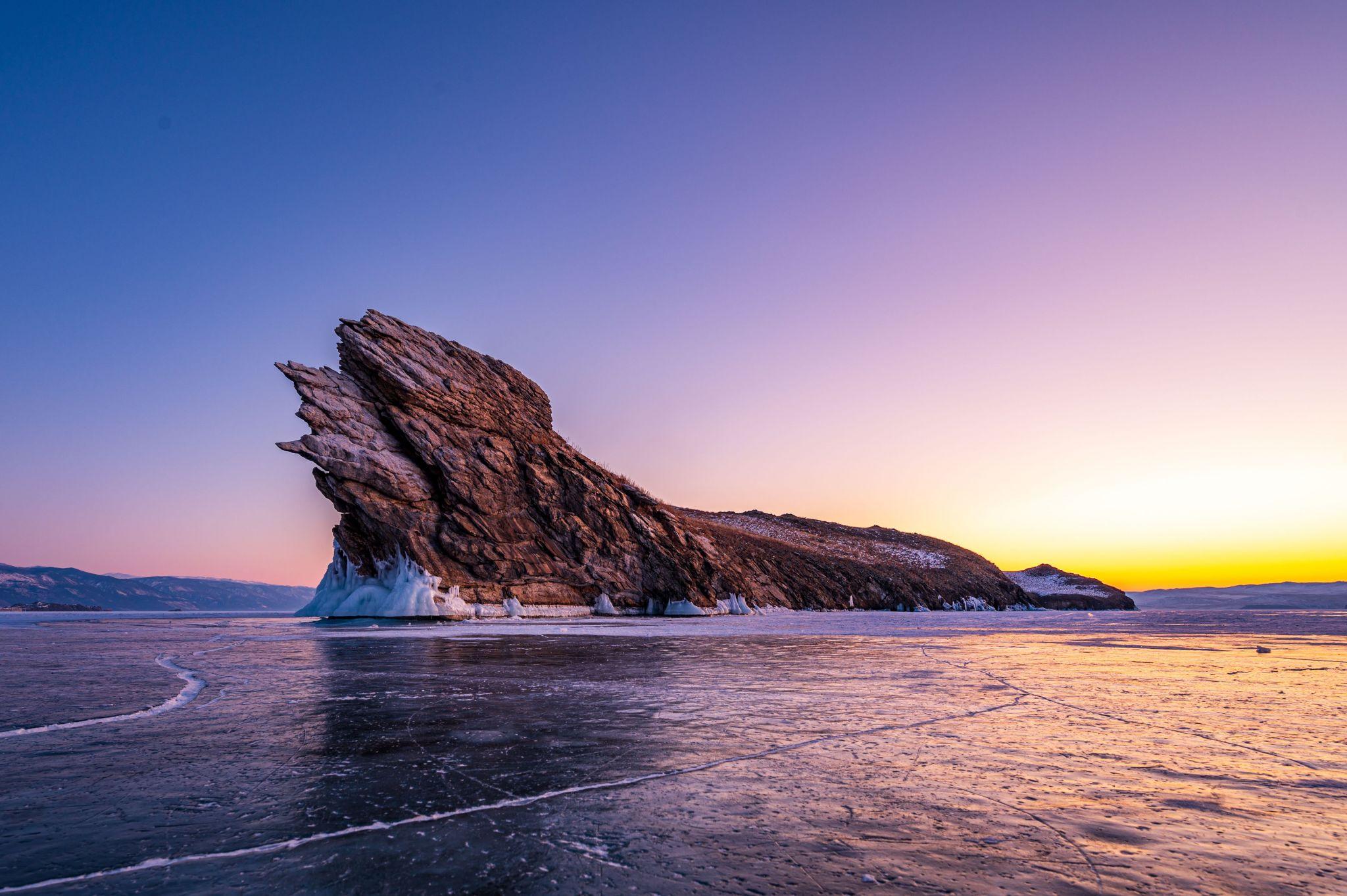 Cape Dragon Island Ogoy, Russian Federation