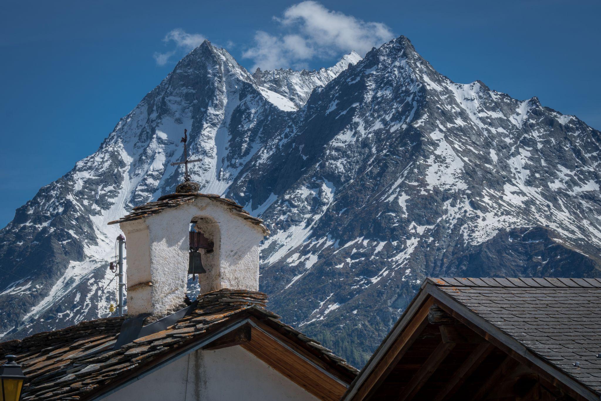 Chapelle de Villa, La Sage, Switzerland