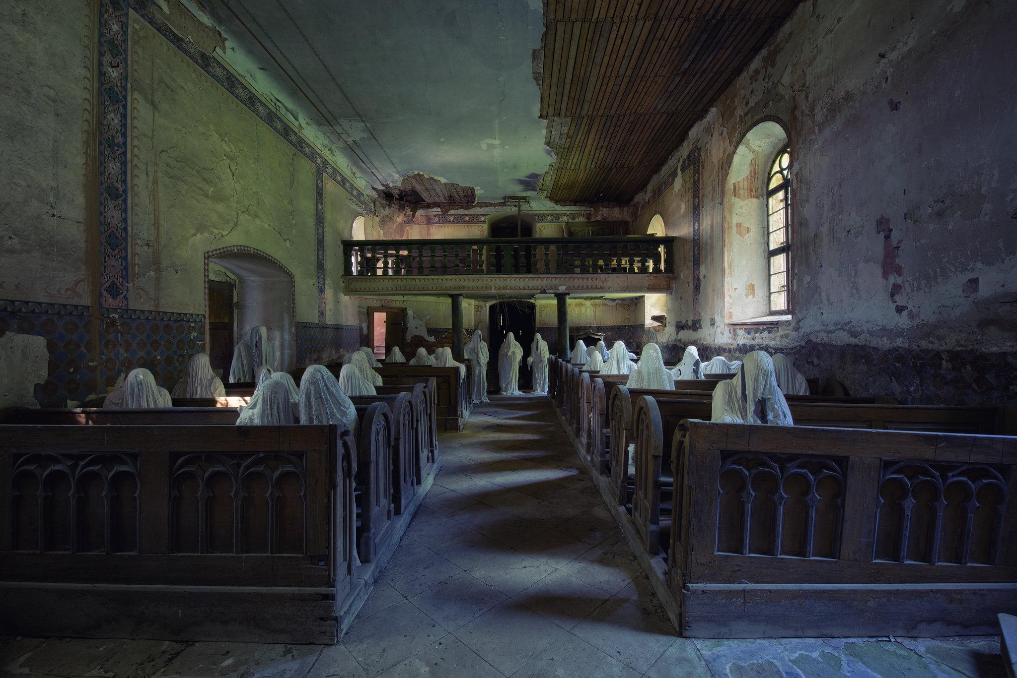 church of ghost, Czech Republic