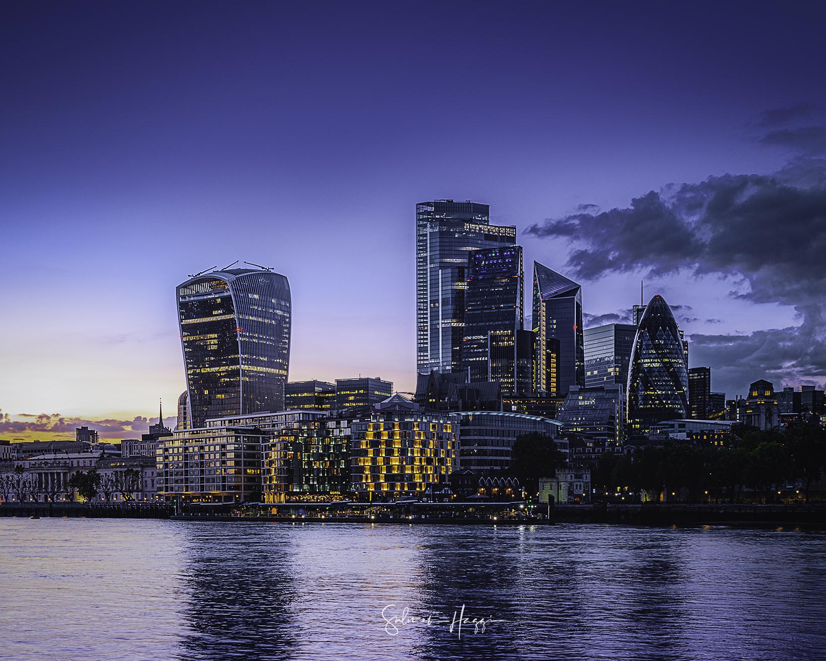 City of London Skyline, United Kingdom