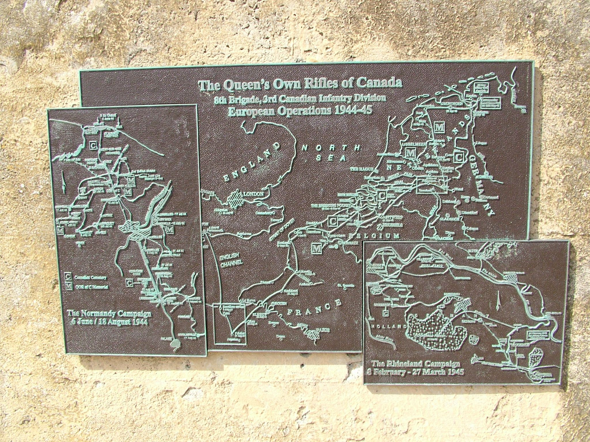 D Day Memorial of the Queens Own Rifles, France