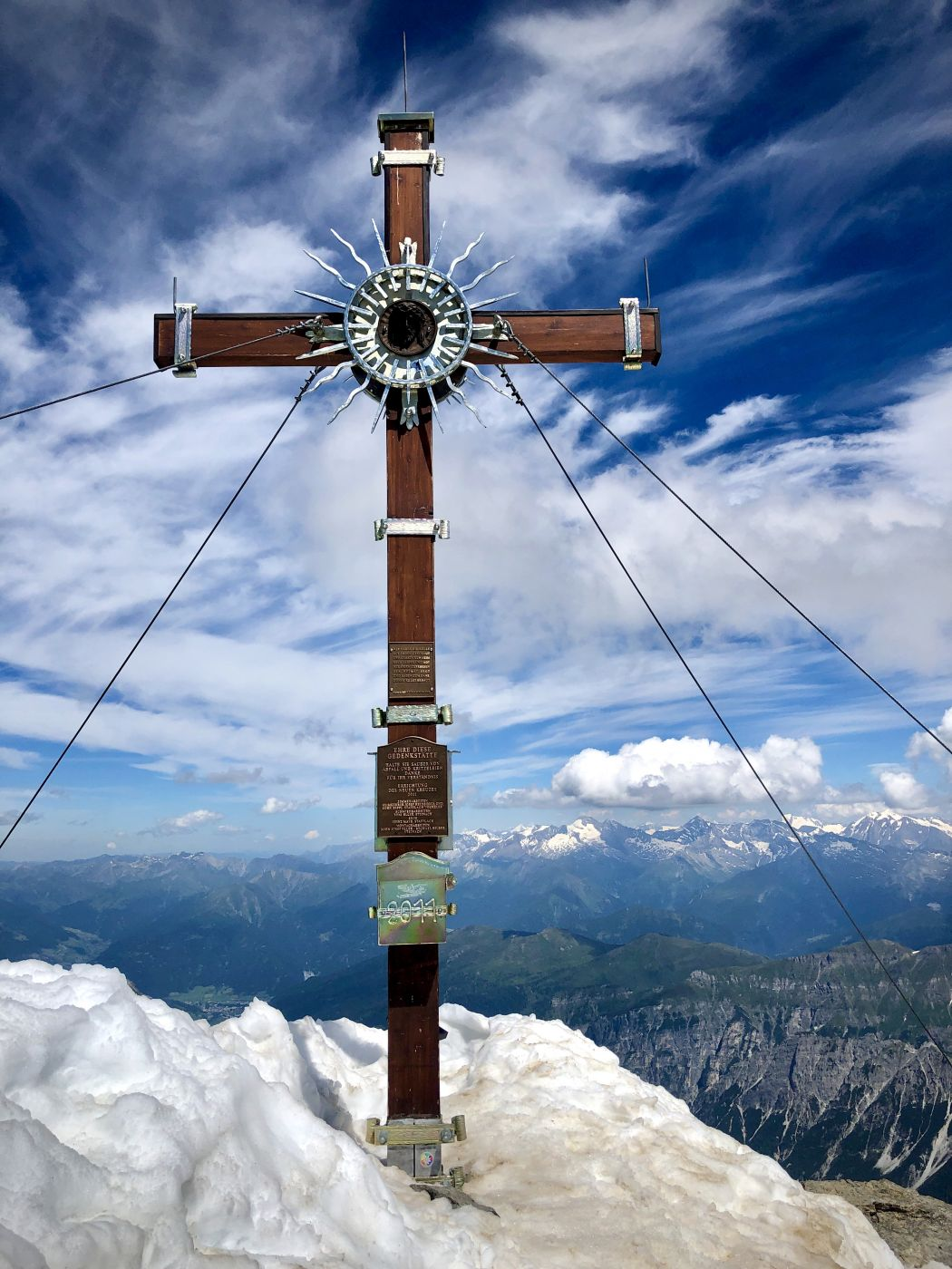 Habicht 3277m 1 of the Seven Summit Stubai, Austria