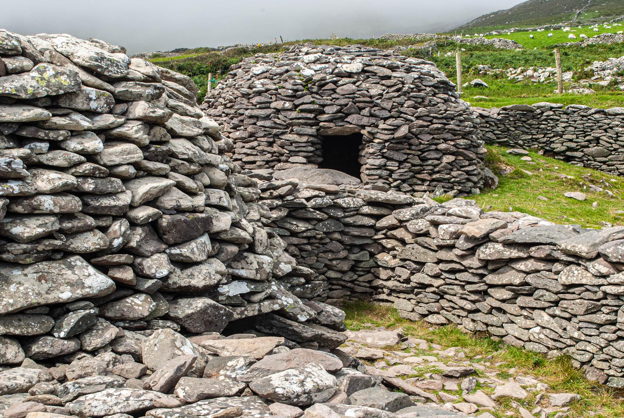 Irish Famine Cottages, Ireland
