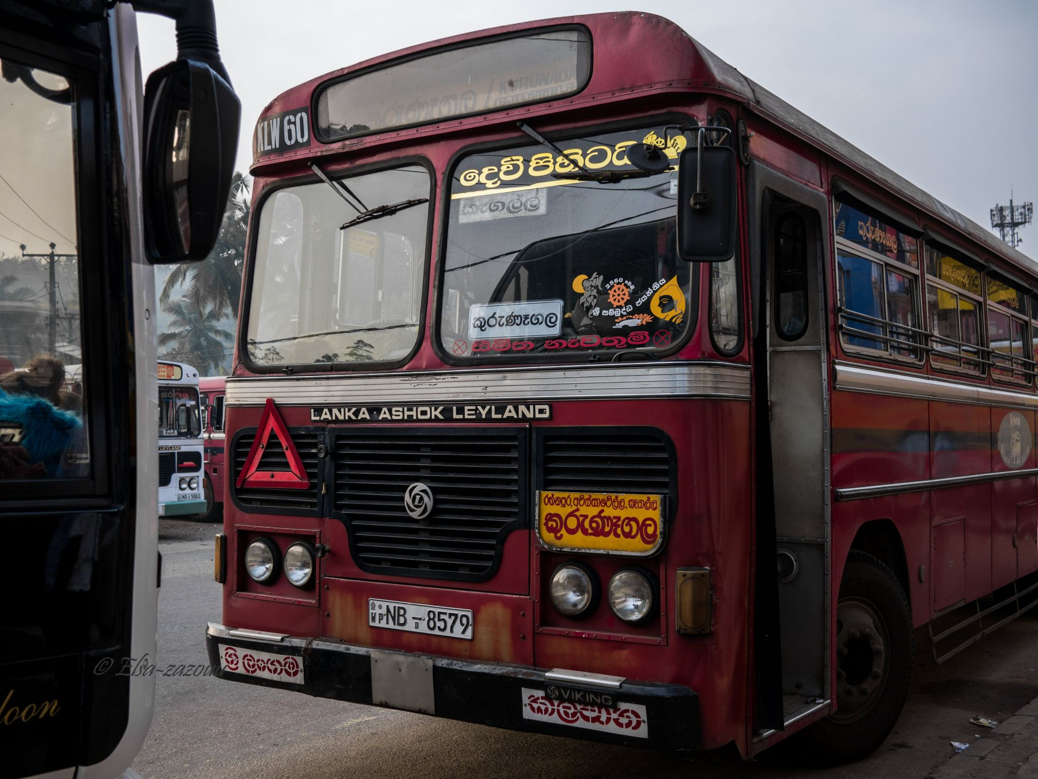 Kalawana bus station, Sri Lanka