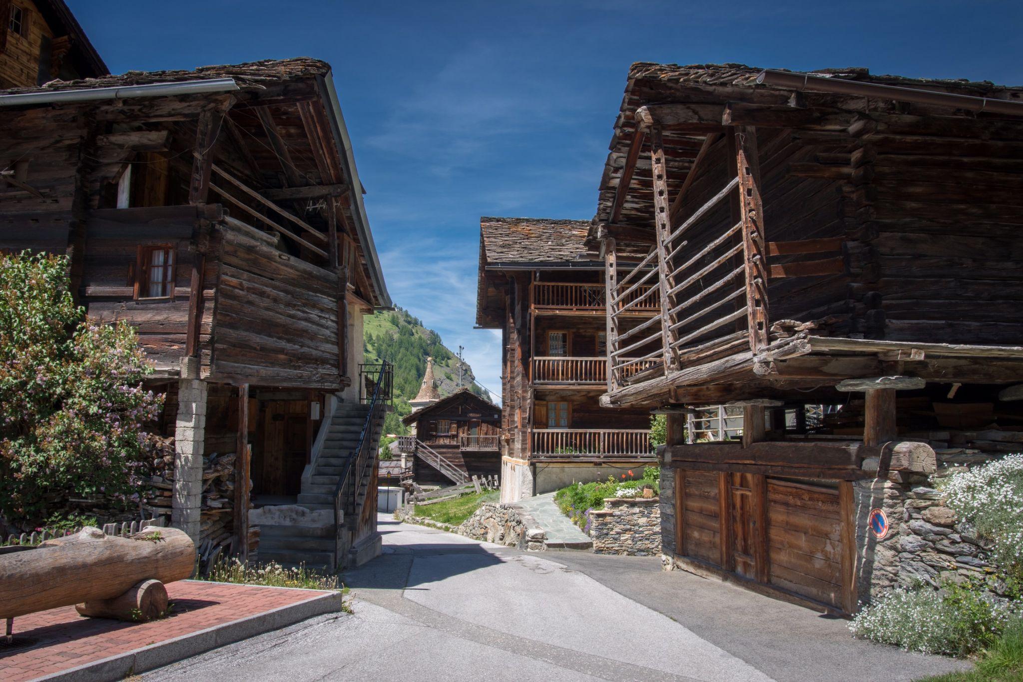 Les Haudères, Vieux Village, Switzerland