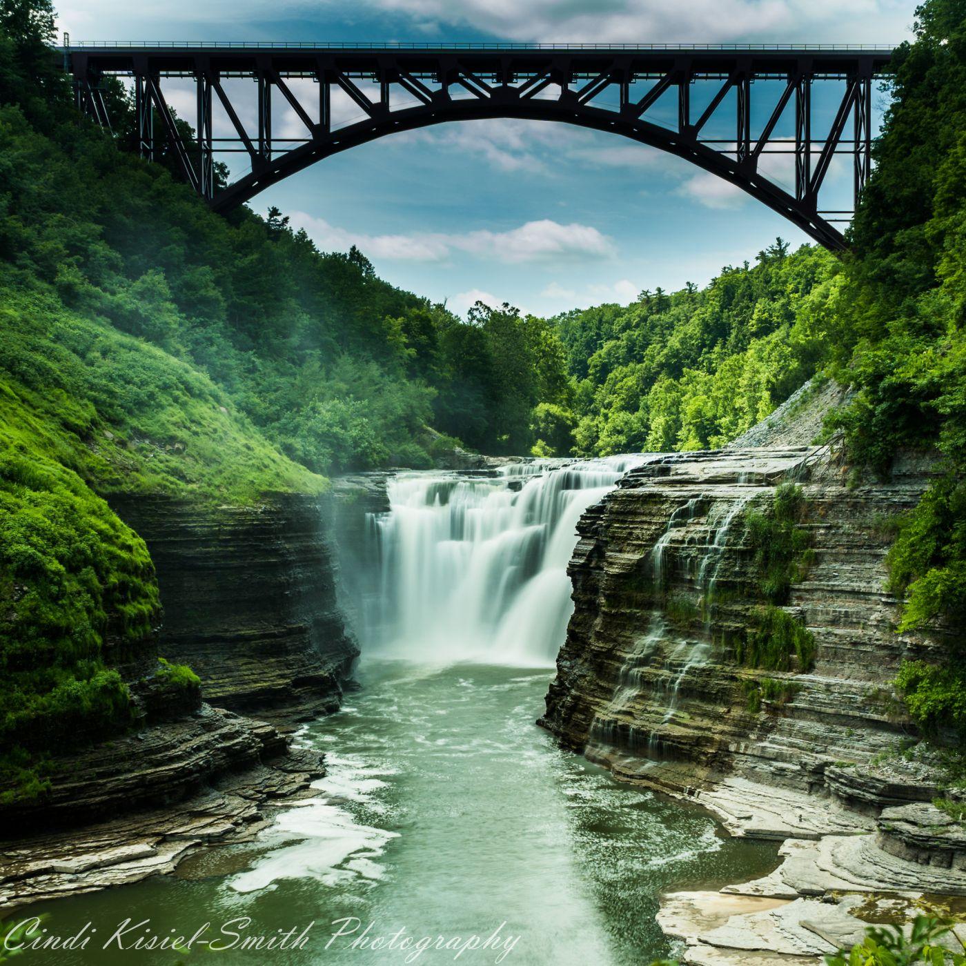 Letchworth State Park Upper Falls, USA