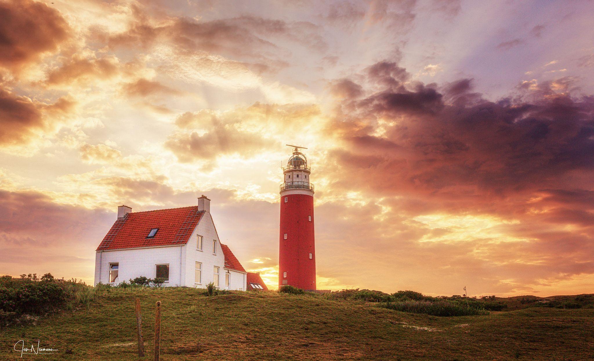 Lighthouse, Texel, Zeeland, Netherlands, Netherlands