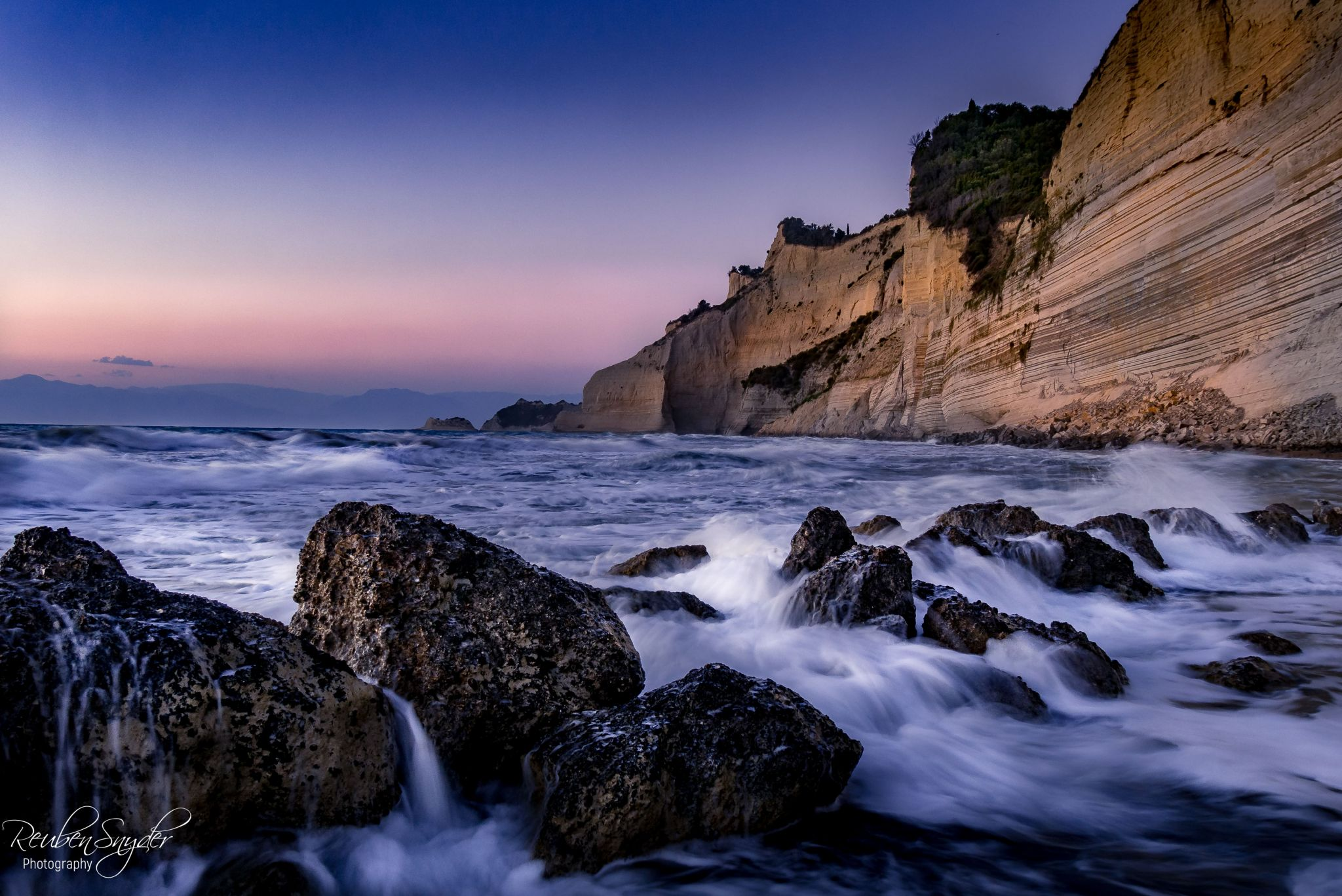 Loggas beach, Greece