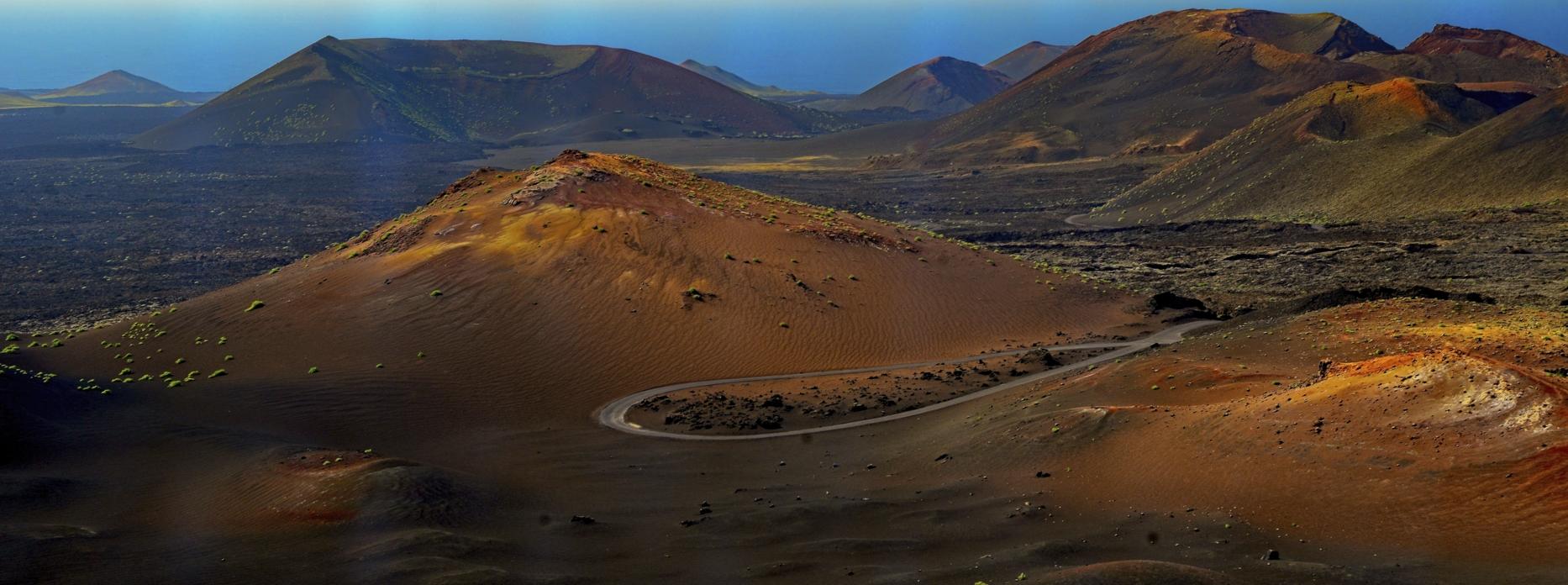Los Volcanes Natural Park, Spain