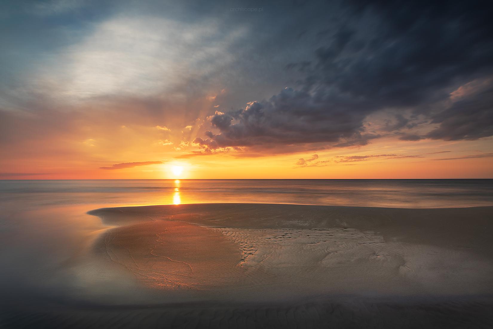 Lubiatowo beach no. 38, Poland