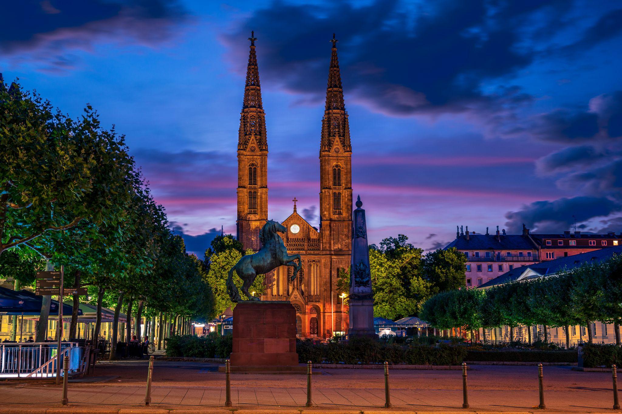 Luisenplatz, Wiesbaden, Germany