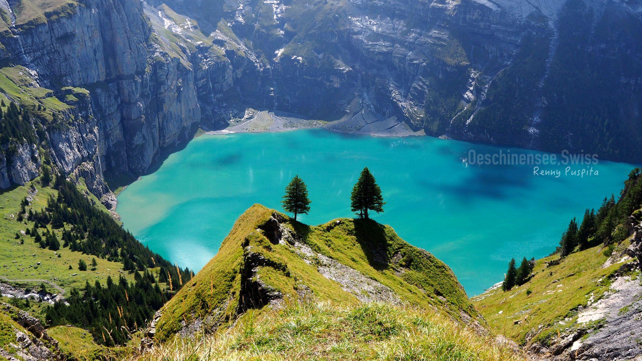 Oeschinensee, Kandersteg - Switzerland, Switzerland