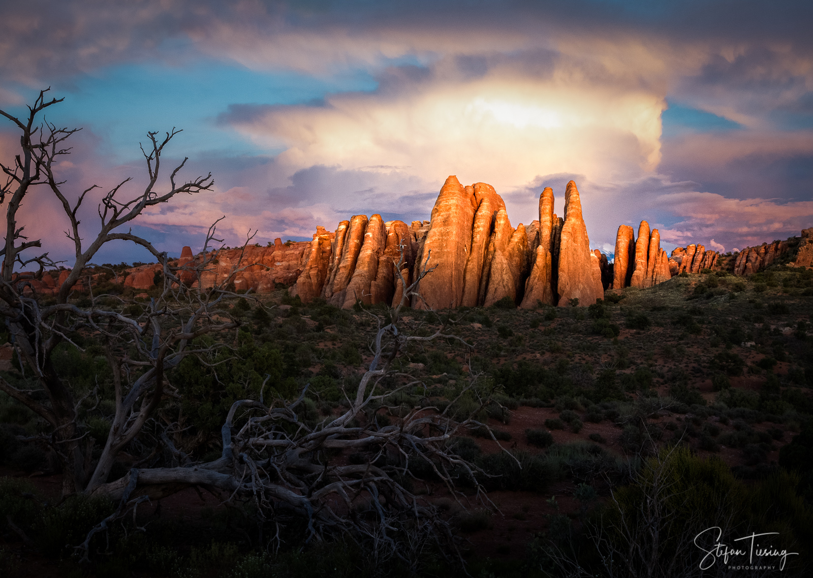 Rocks at Arches National Park, USA