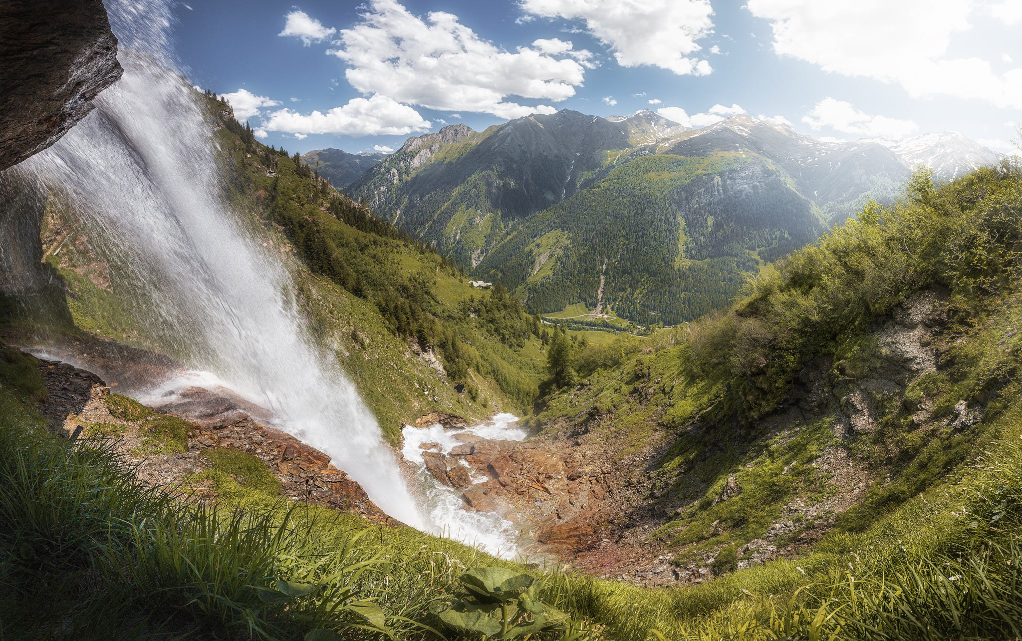 Schleierwasserfall, Austria