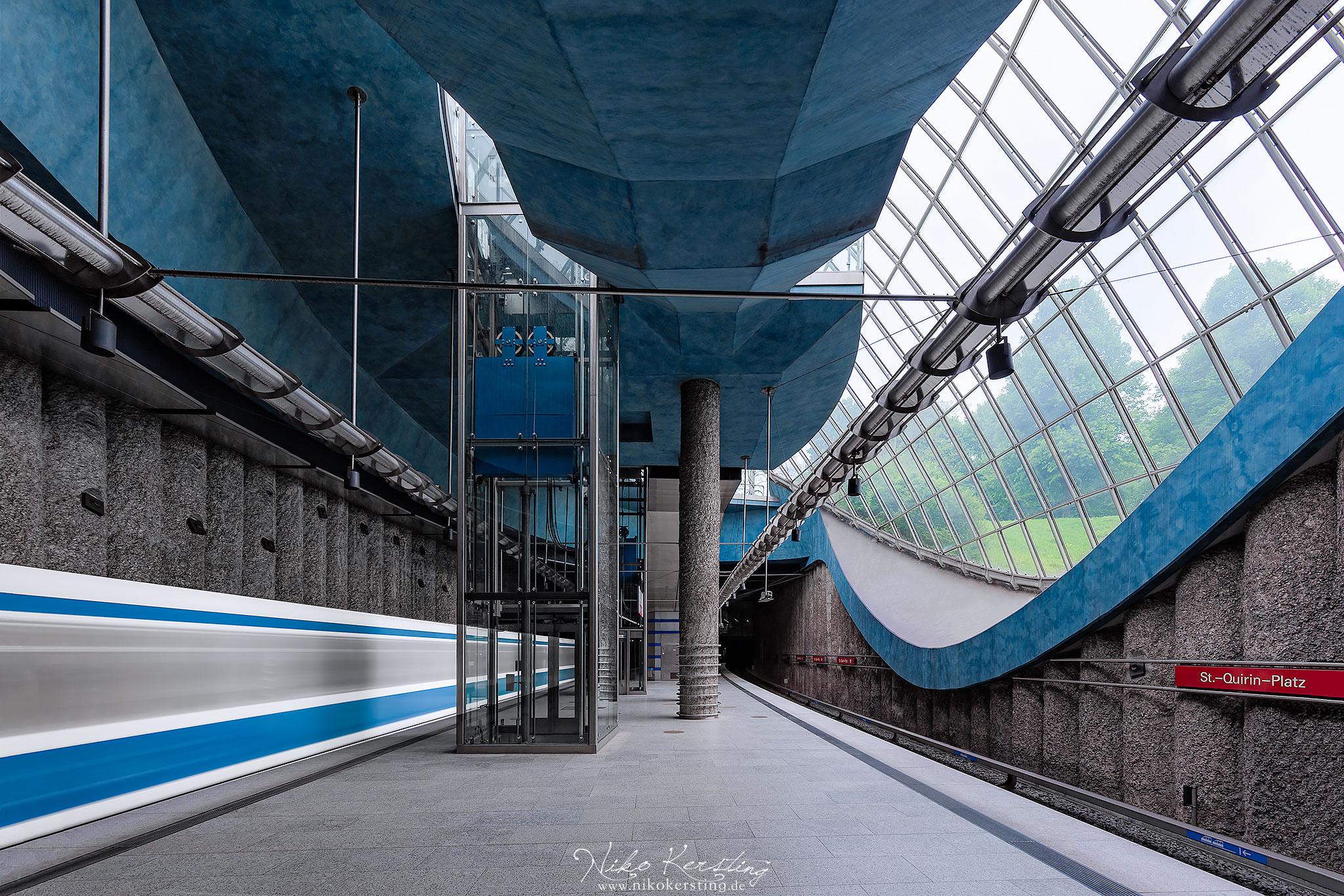 St.-Quirin-Platz (Underground Station), Germany