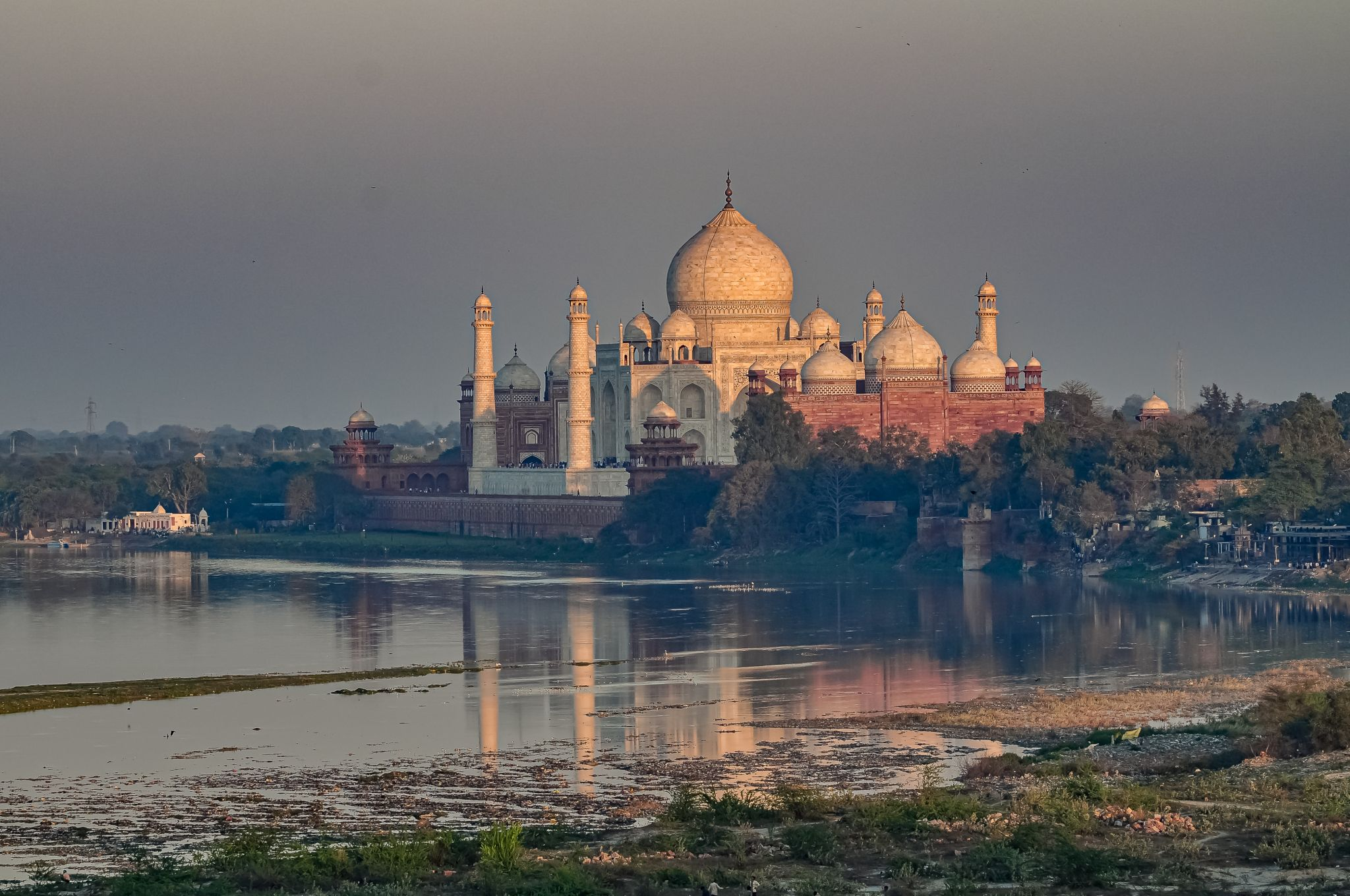 Taj Mahal from a different angle, India