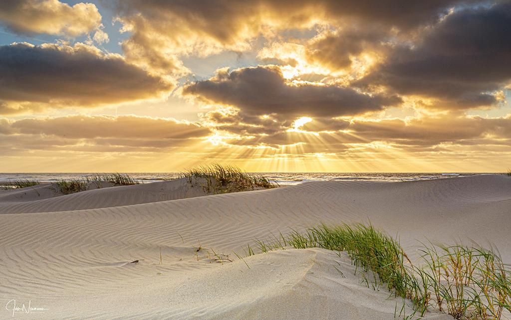 Texel beach, Netherlands