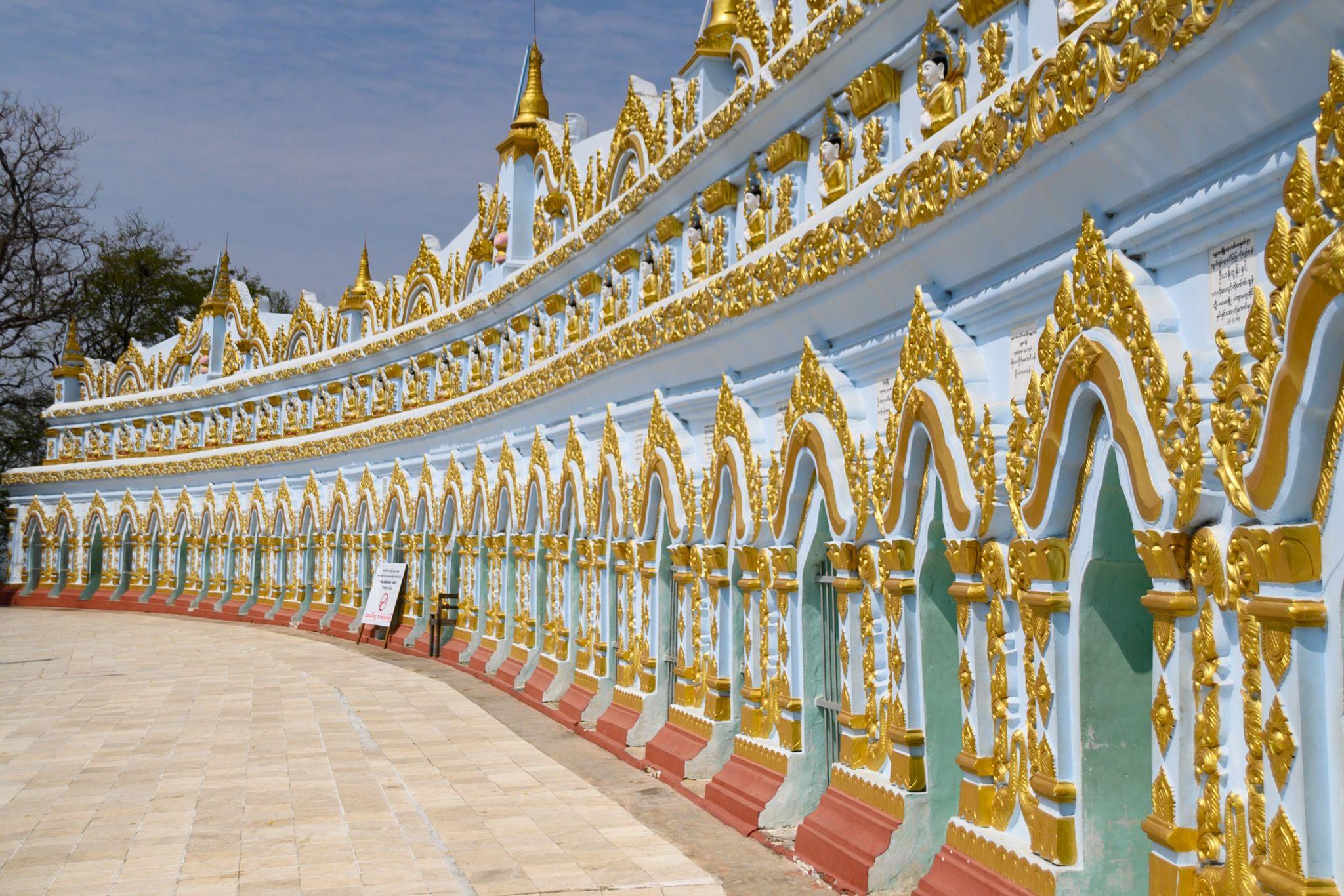 U Min Thonze Temple, Myanmar