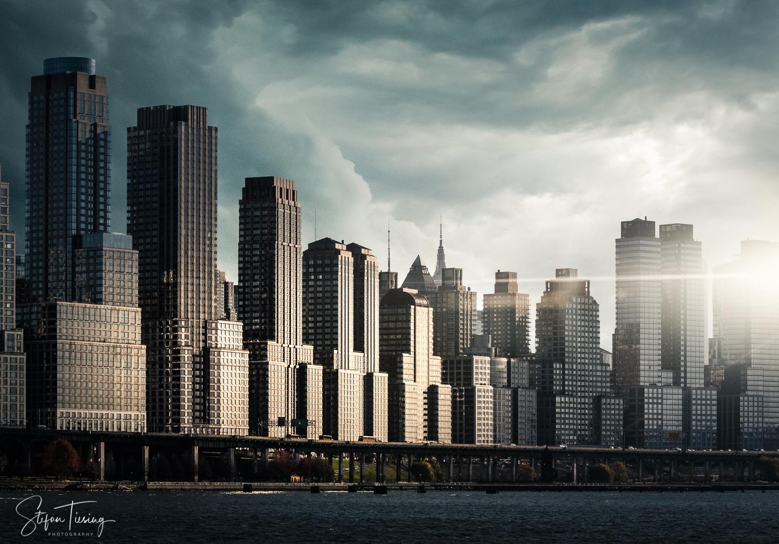 Upper West Side Skyline, USA