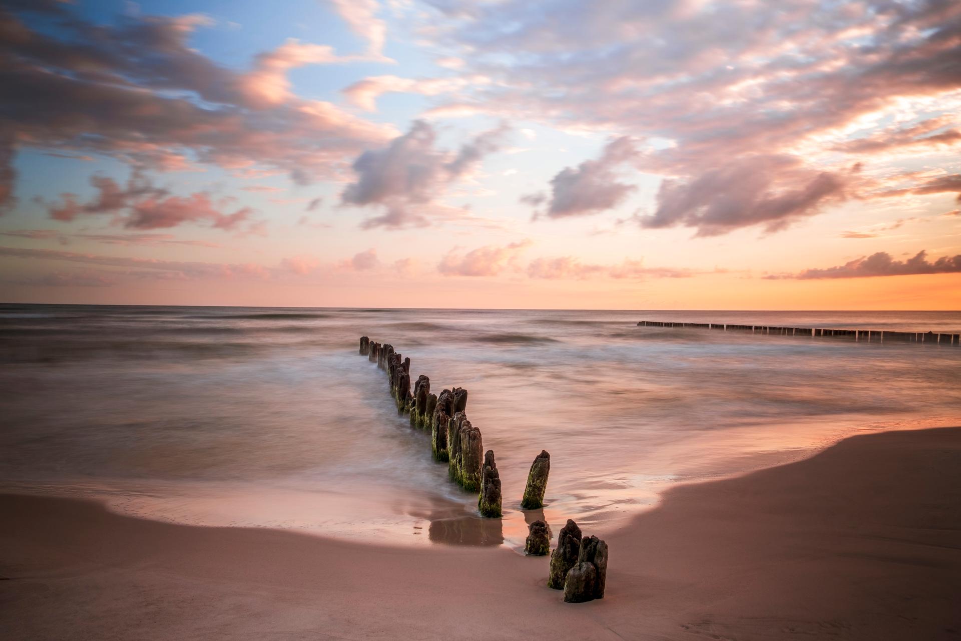 Ustka Beach, Poland