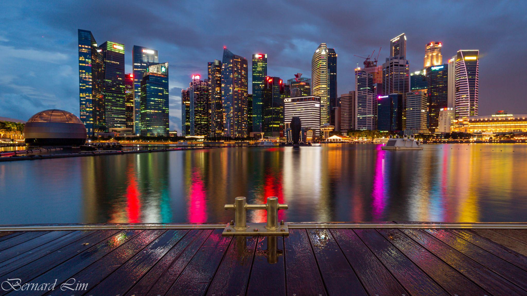 View of CBD, Singapore