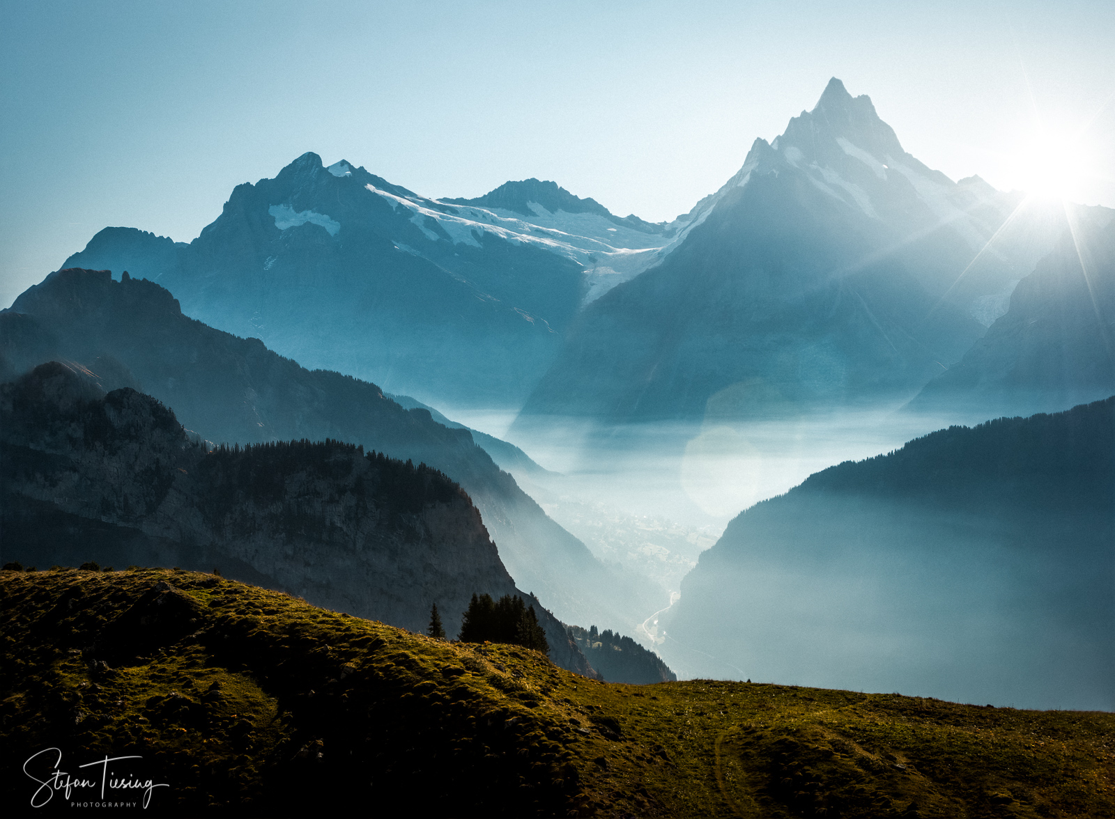 View over Grindelwald, Switzerland