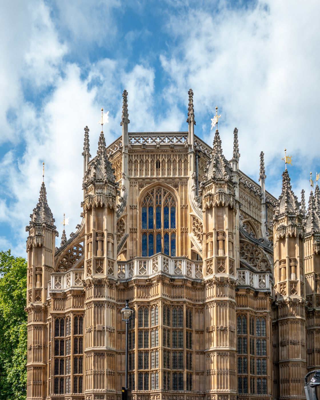 Westminster Abbey - Lady Chapel exterior, United Kingdom