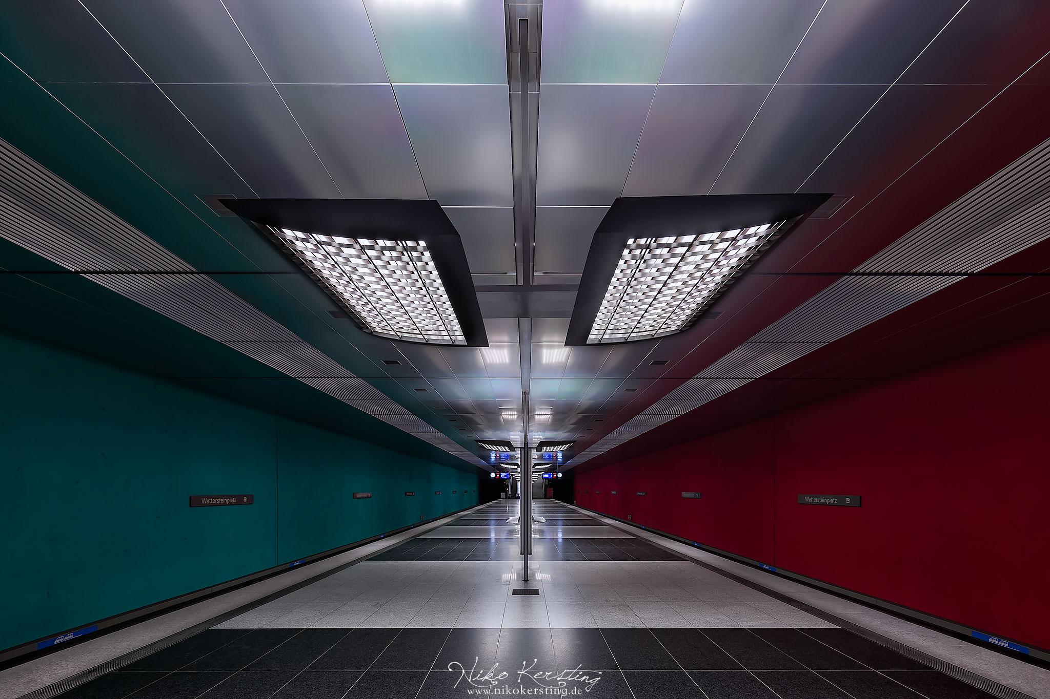 Wettersteinplatz (Underground Station), Germany