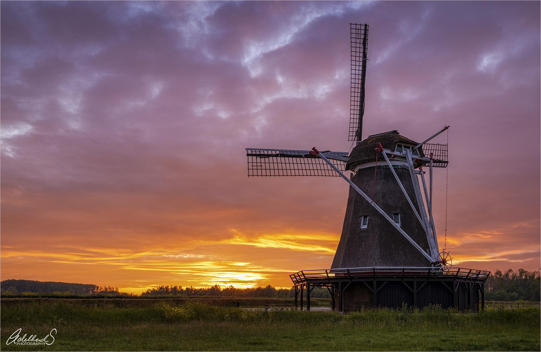 Windesheimer windmill, Netherlands
