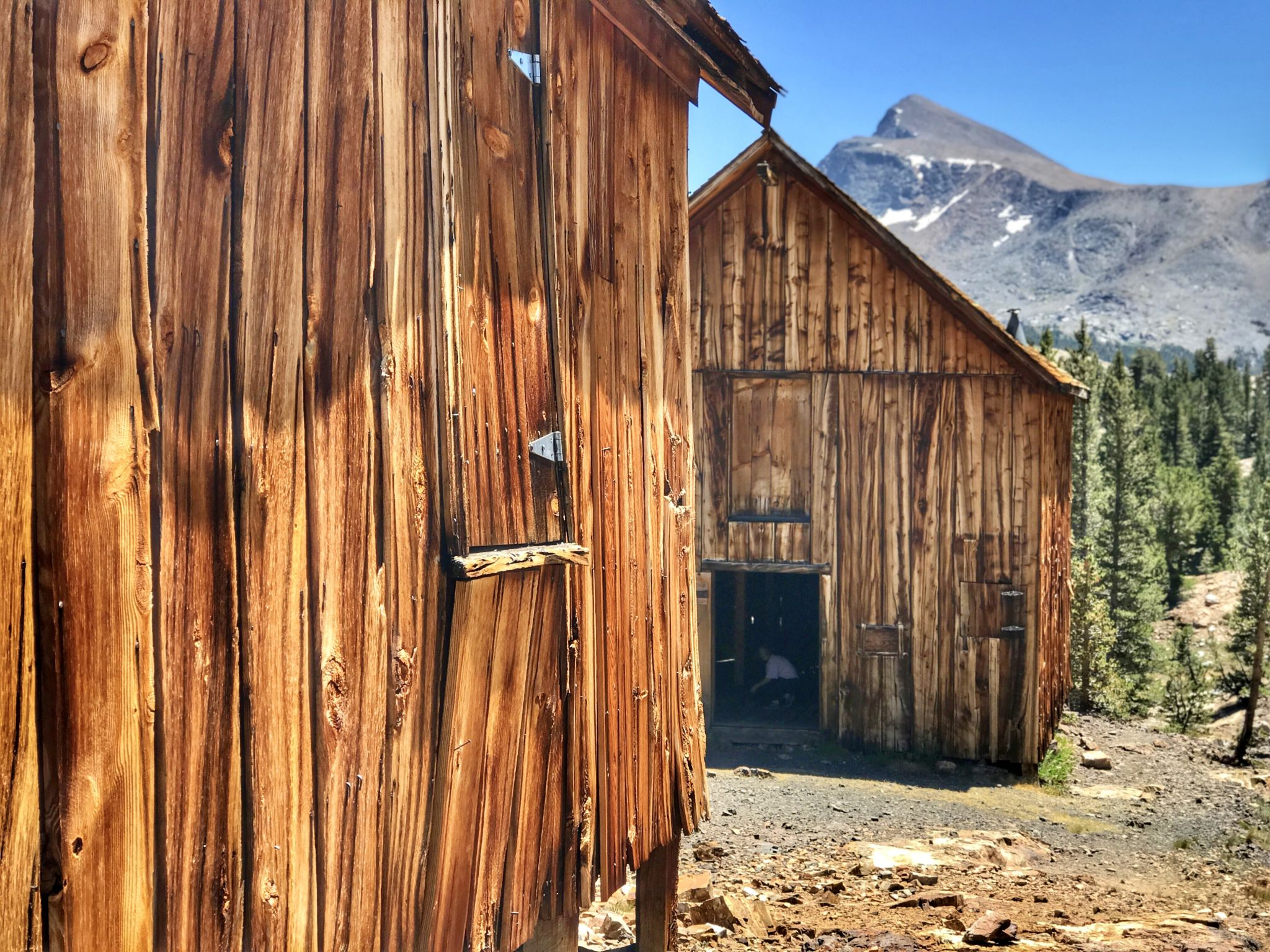 Bennettville mining town, Tioga Pass, CA, USA