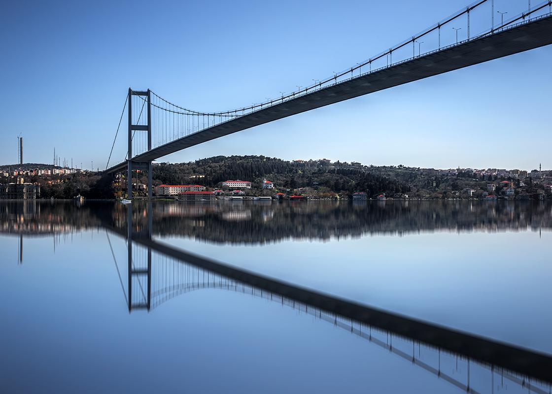 Bosphorus Bridge Beylerbeyi Parkı, Turkey