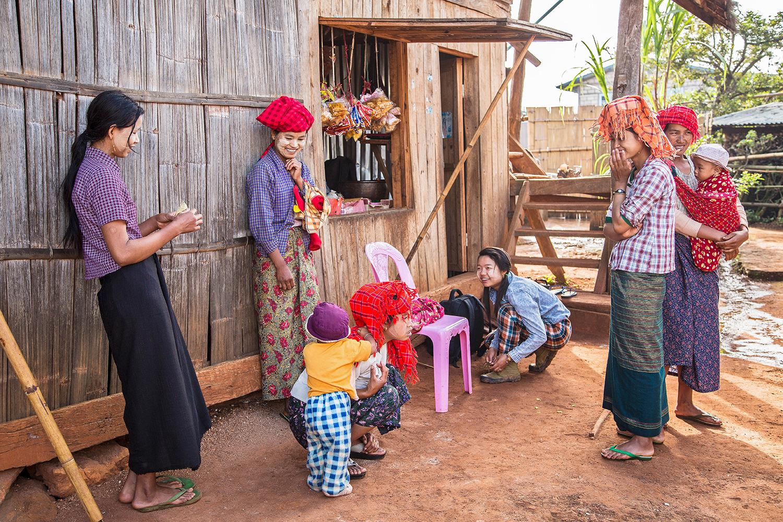 Dorfladen auf dem Weg von Kalaw zum Inle-See, Myanmar