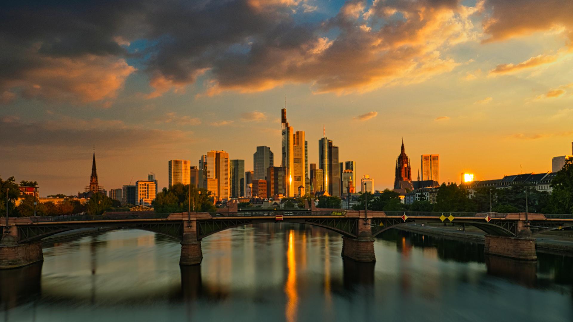 'Flößerbrücke' - Frankfurt am Main, Germany